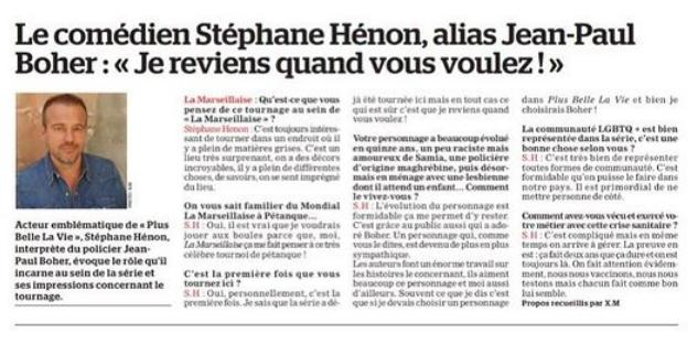 Interviews des comédiens et équipes - Page 12 La_mar10