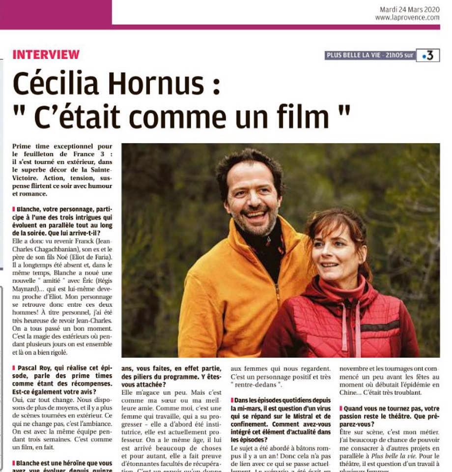 Interviews des comédiens et équipes - Page 9 Laprov10