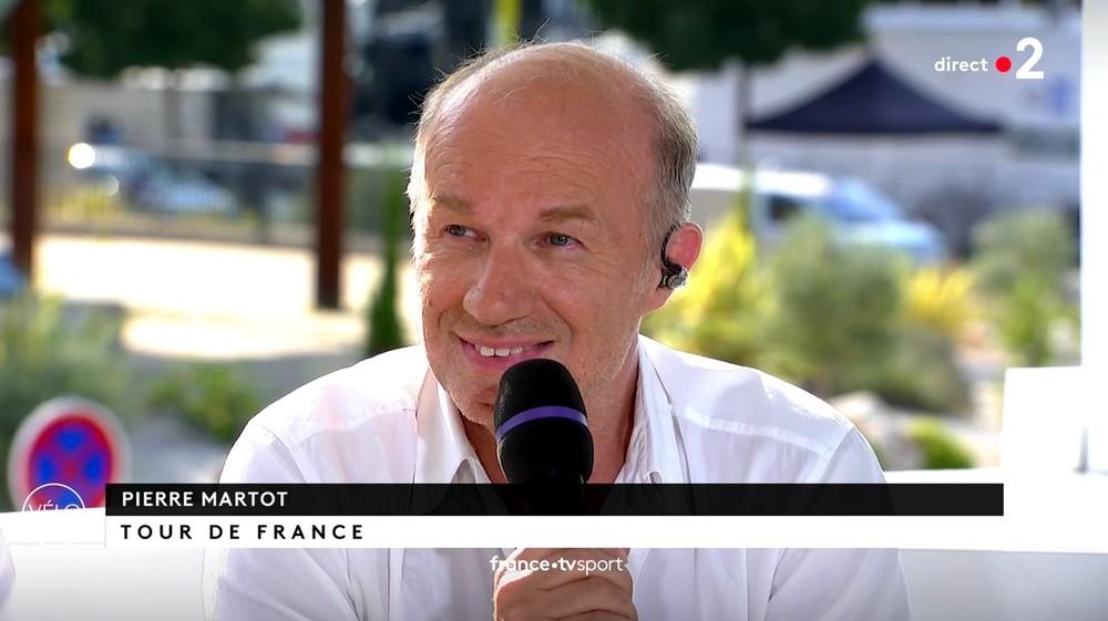 Les comédiens sur le Tour de France à Nîmes (23/07/19) Martot12