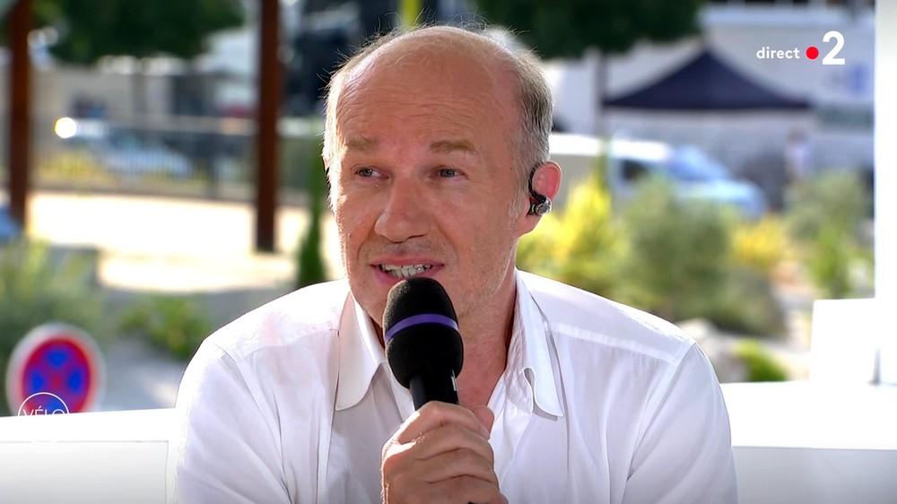 Les comédiens sur le Tour de France à Nîmes (23/07/19) Martot13