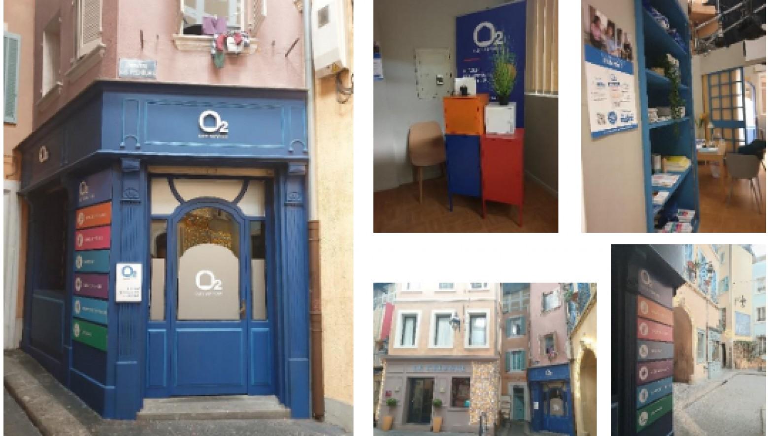 Agence O2 : Nouveau décor à la place du cabinet O211