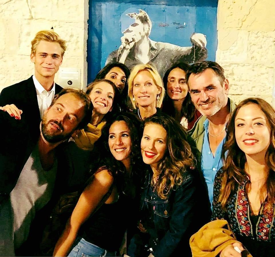 Les comédiens au Festival de la fiction TV La Rochelle (15/09/18) Pblv13