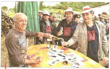 Alexandre Fabre et Régis Maynard à Rasteau (09/06/19) Rastea13