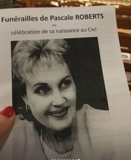 Décès de Pascale Roberts (Wanda, mère de Blanche) Robert11