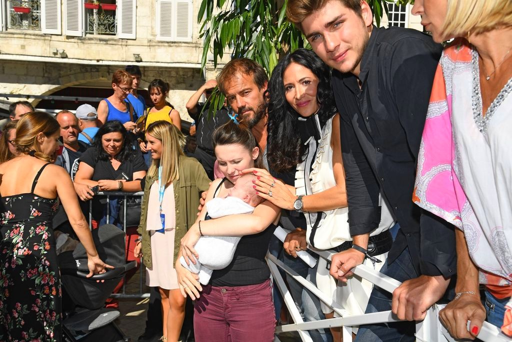 Les comédiens au Festival de la fiction TV La Rochelle (15/09/18) Rochel12