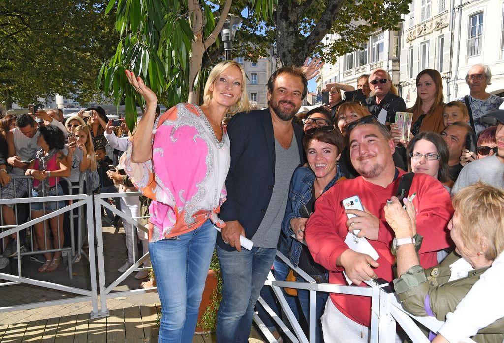 Les comédiens au Festival de la fiction TV La Rochelle (15/09/18) Rochel13