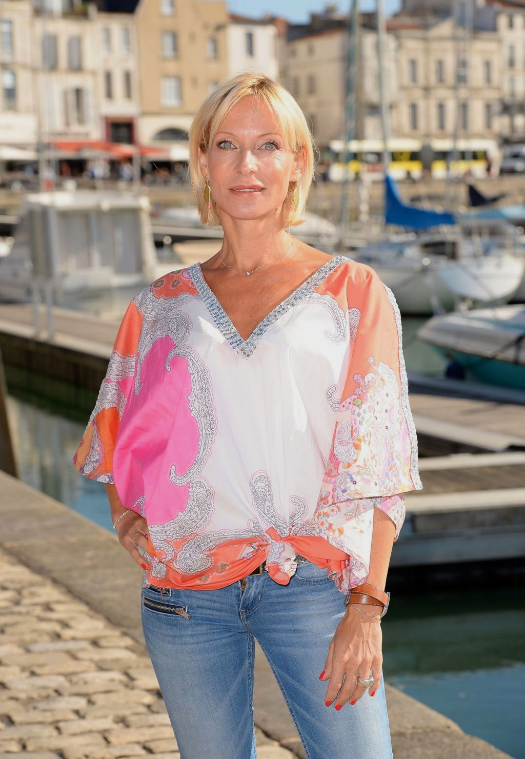 Les comédiens au Festival de la fiction TV La Rochelle (15/09/18) Rochel14