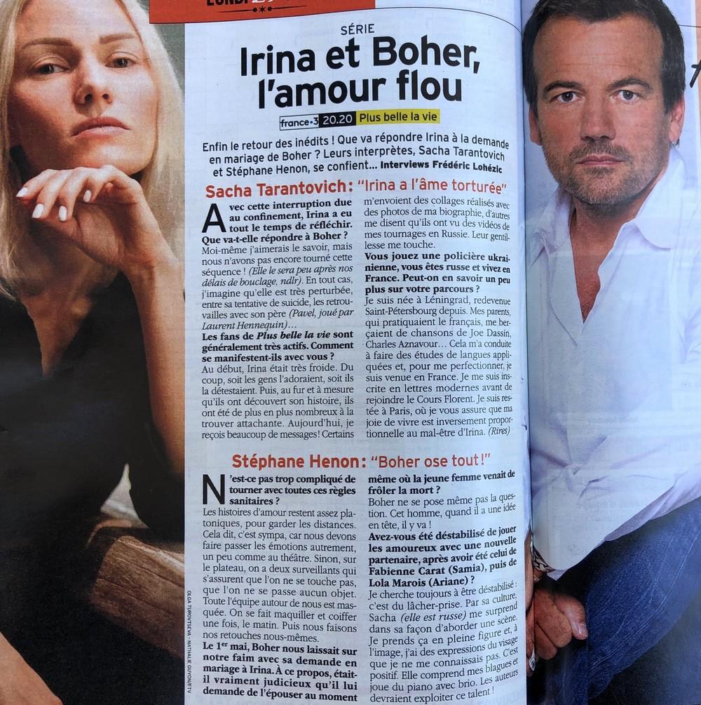 Interviews des comédiens et équipes - Page 9 Tele7j12