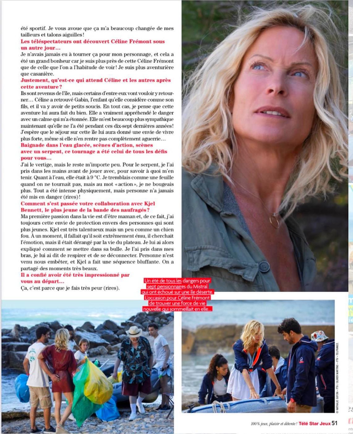 Interviews des comédiens et équipes - Page 12 Telest74