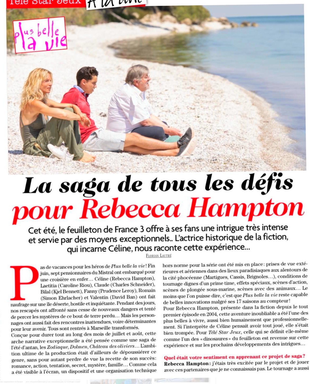 Interviews des comédiens et équipes - Page 12 Telest75