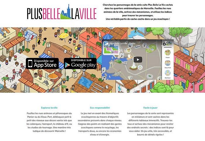 """Jeu mobile : """"Plus belle la ville"""" Ville10"""