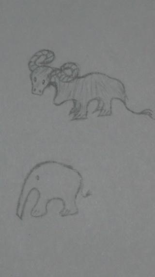 Mes dessins .... inachevés / Autres - Nuage 05_09_11