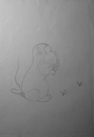 Mes dessins .... inachevés / Autres - Nuage - Page 11 Mulot_12