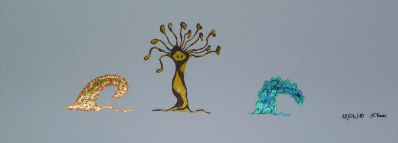 Mes dessins .... inachevés / Autres - Nuage P1000510