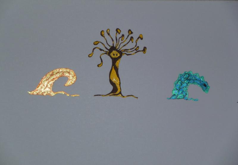 Mes dessins .... inachevés / Autres - Nuage P1000610