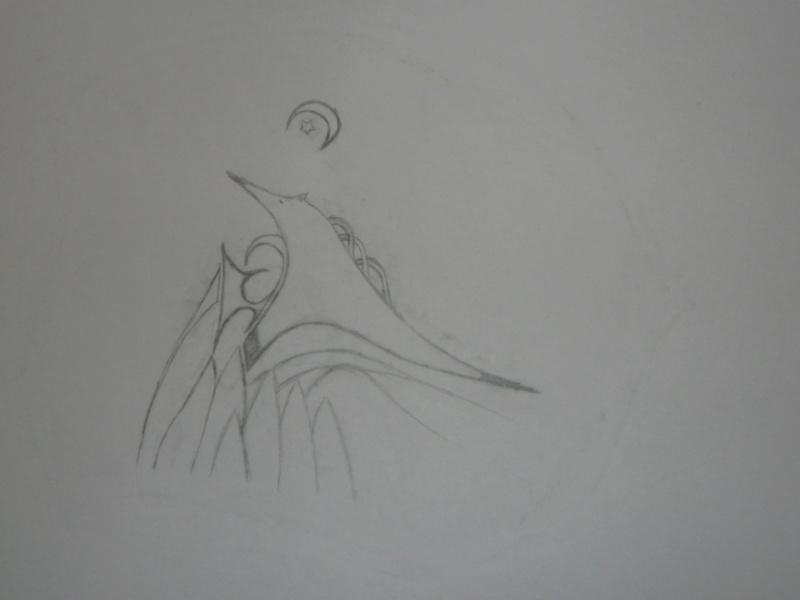 Mes dessins .... inachevés / Autres - Nuage P1020710