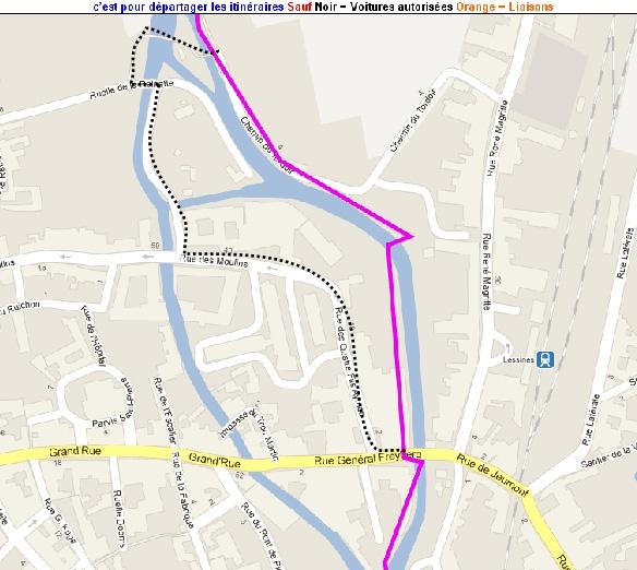 RAVeL 4 (part 04) Ath - Lessines - 01 Itinéraire N°1 - W1 - Entre Dendre et Hauts-Pays - partie Lessines - Ath (ex RAVeL 4  Lessines - Ath) Lessin11