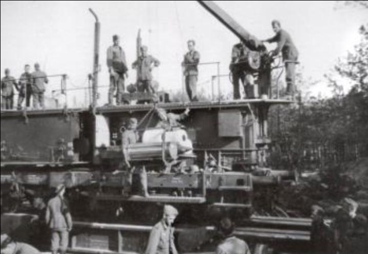 Research documentation 280 mm K5 (E) Leopold Germaon Railroad Gun. 2810