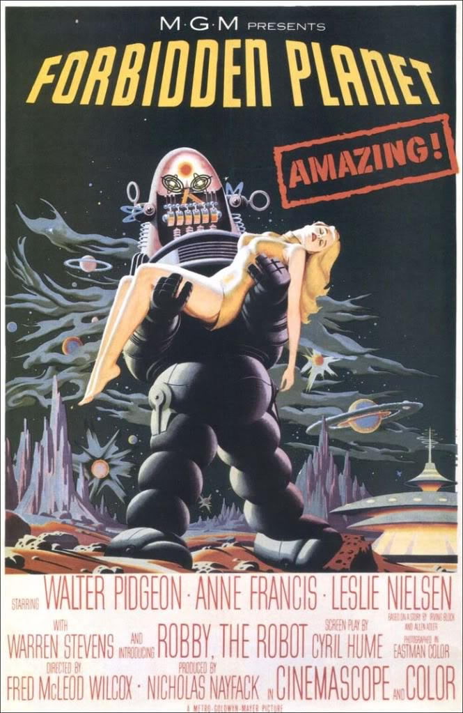 Robby the Robot from 'Forbidden Planet' Forbid10