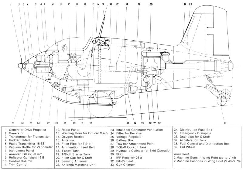 Messerschmitt Me163B Komet 1/32 Me163b10