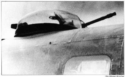 He 111 detail Turret11