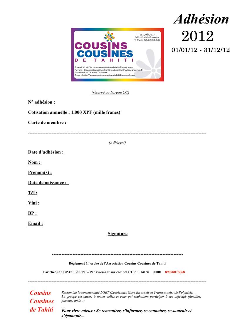 L'ASSOCIATION COUSINS COUSINES DE TAHITI Fiche_14