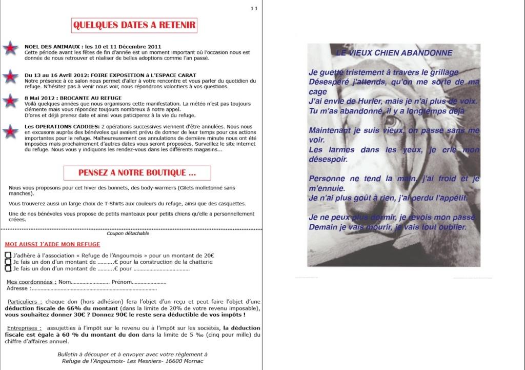 le mot de la présidente fin 2011 + bulletin fin d'année Page1111