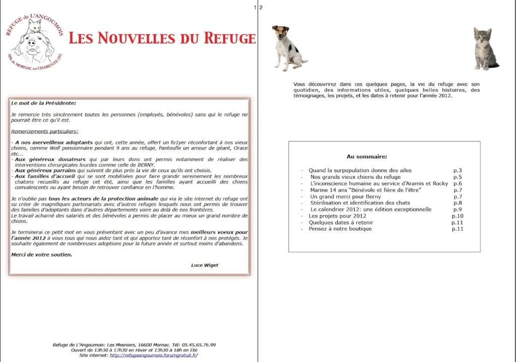 le mot de la présidente fin 2011 + bulletin fin d'année Page1211