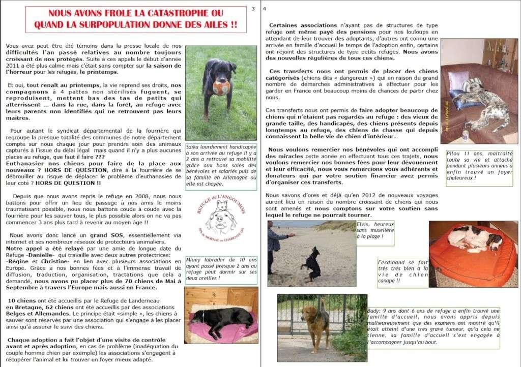 le mot de la présidente fin 2011 + bulletin fin d'année Page3-10