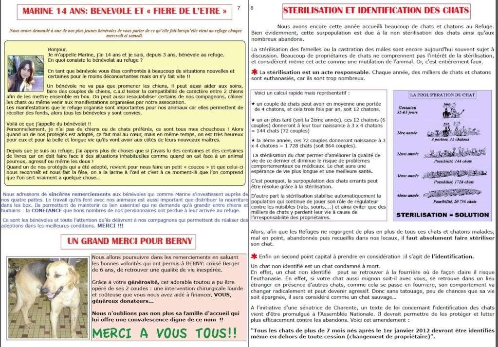le mot de la présidente fin 2011 + bulletin fin d'année Page7-10