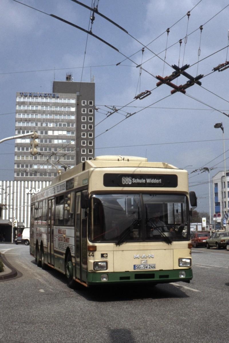 O-Bus-Drehscheibe - Sonderling aus Solingen Bild-011