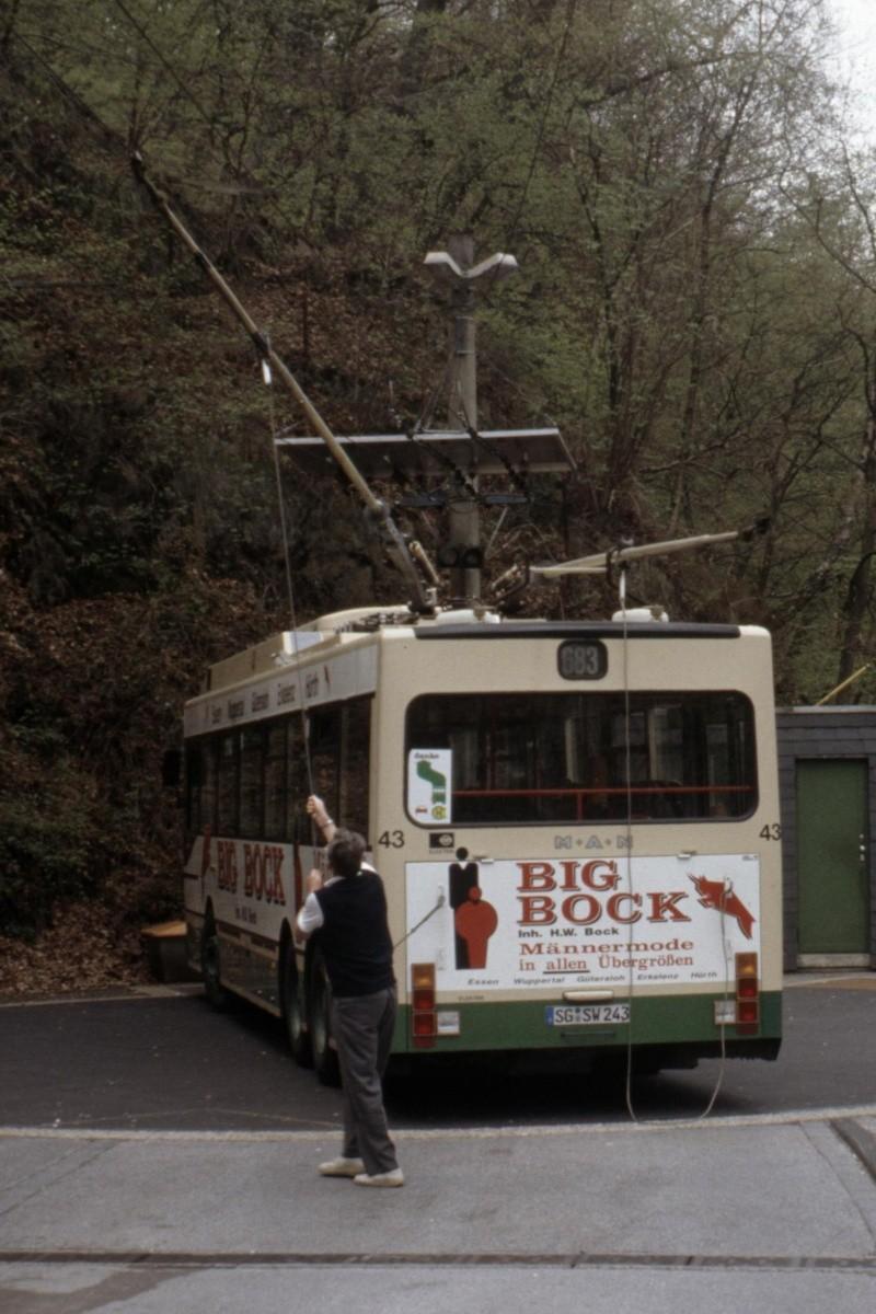 O-Bus-Drehscheibe - Sonderling aus Solingen Bild-013