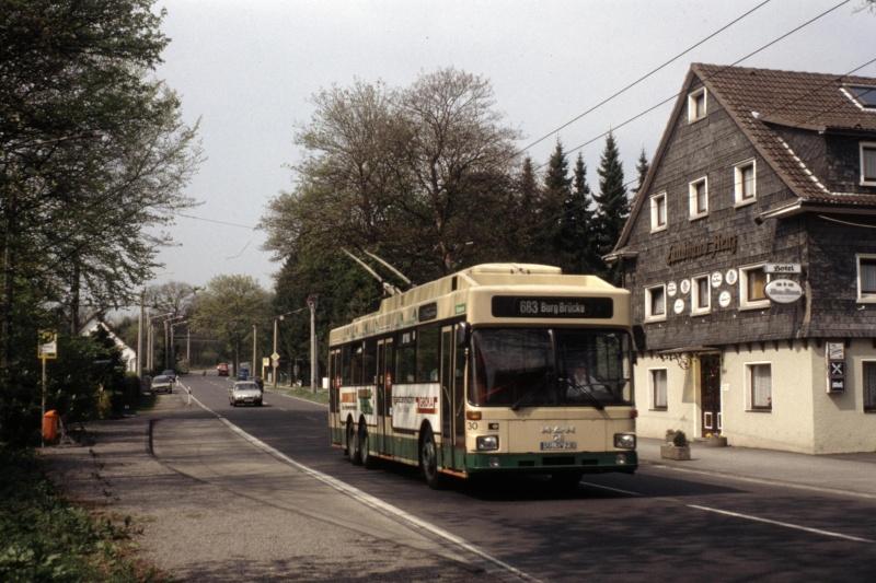 O-Bus-Drehscheibe - Sonderling aus Solingen Bild-019