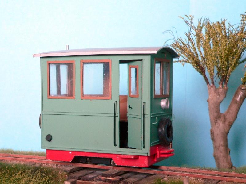 Arbeits-Triebwagen im Maßstab 1:22,5 für Spur Gn15 (16,5 mm) Tw_ein10