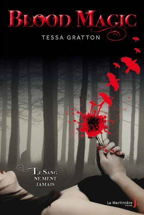 blood - THE BLOOD JOURNAL (Tome 1) BLOOD MAGIC de Tessa Gratton Blood-10