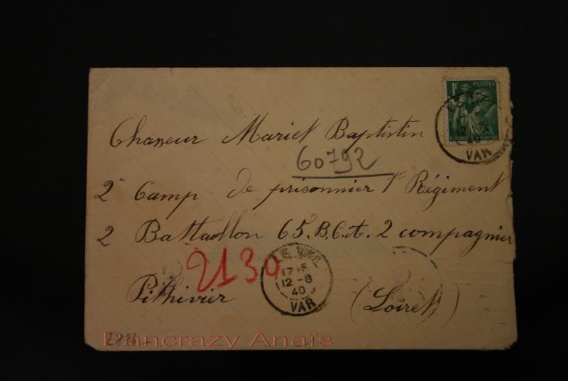 Carte et lettre Pithivier et Beaune Imgp8811