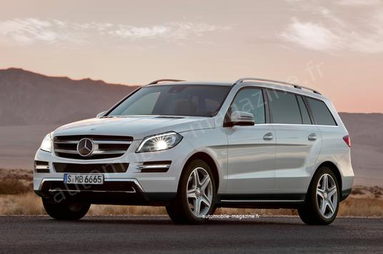 2012 - [Mercedes] GL II [X166] - Page 2 3_4_av12