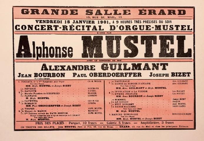 Affiche concert Alphonse Mustel Affich10