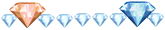 Diamond x 27