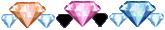 Diamond x 34