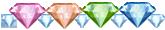 Diamond x 45