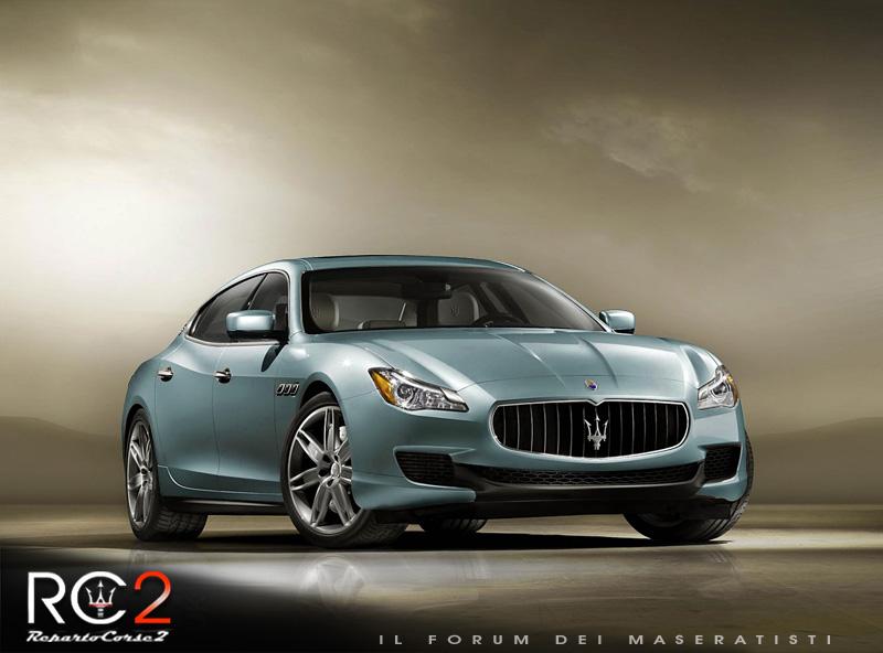 Nuova Maserati Quattroporte VI - Pagina 3 0511