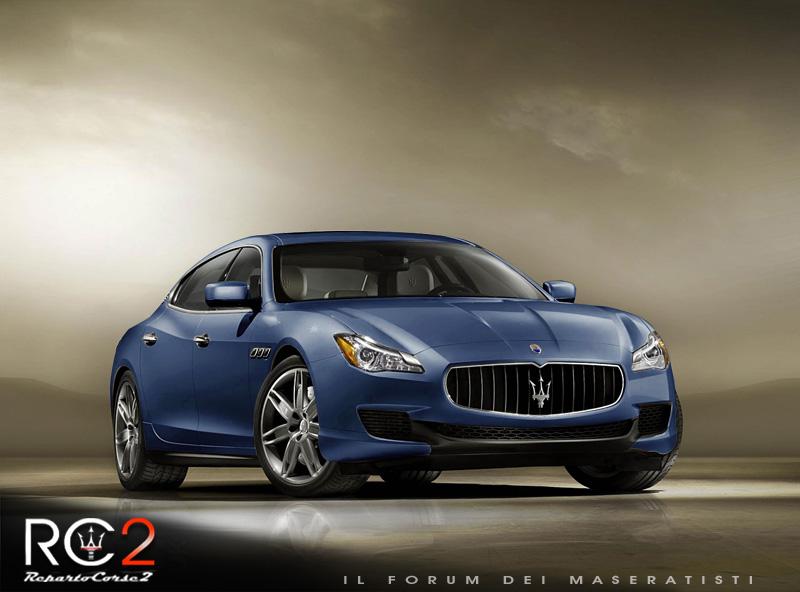 Nuova Maserati Quattroporte VI - Pagina 3 0911