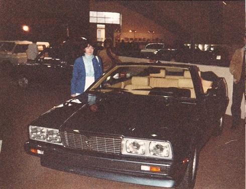 Maserati Biturbo al Salone dell'Automobile 1982 Cabrio10