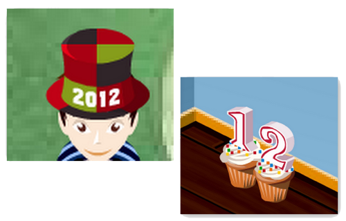 New Year's Gifts: 2012 Hat and Cake Furniture! 2012_g10
