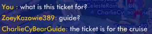 Mysterious Ticket Ss36910