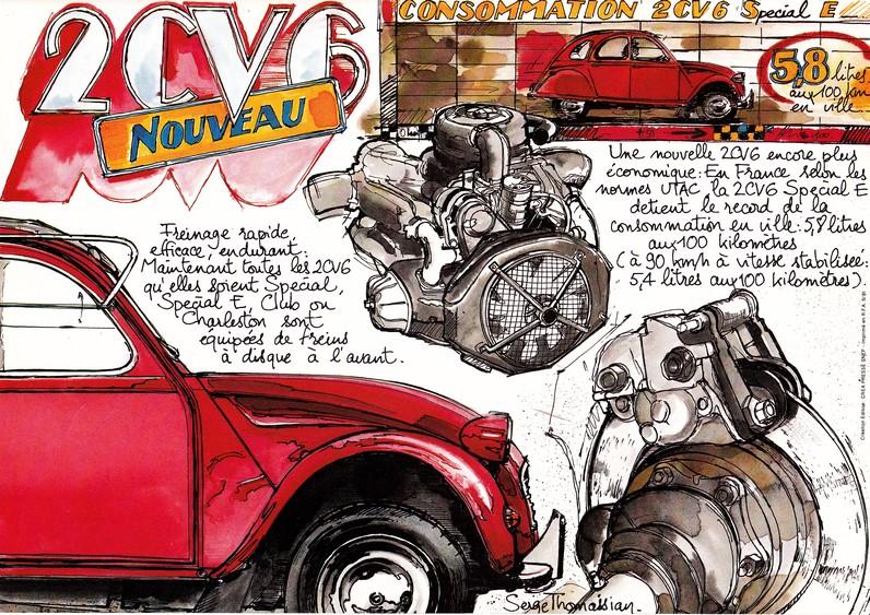 Les bicylindres (2cv, Dyane, AMI 6et 8, Méhari.....) Brochu12