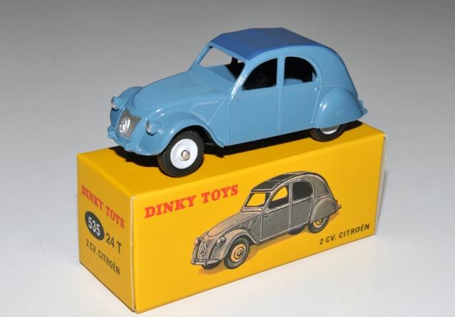 Dinky Toys Atlas 2 cv 535 24 T Dt_atl13