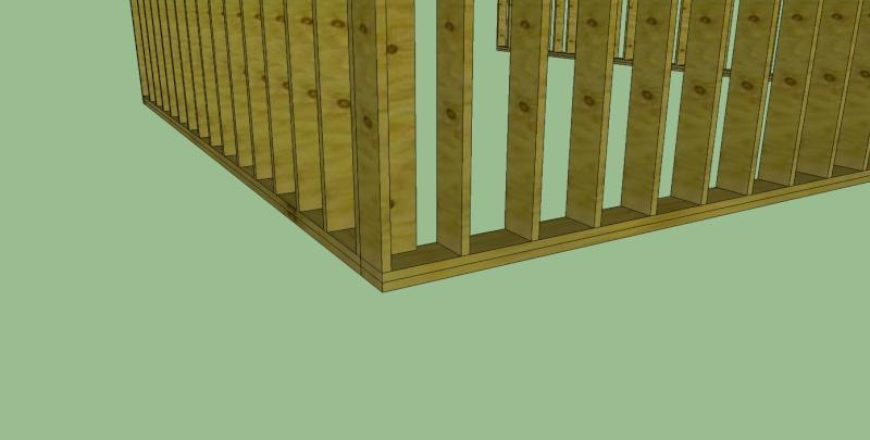 Mur Ossature Bois - Composant dynamique Mob10