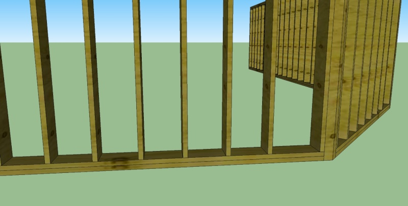 Mur Ossature Bois - Composant dynamique Mob11